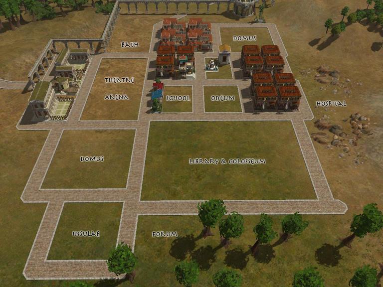 Caesar  Building Layouts